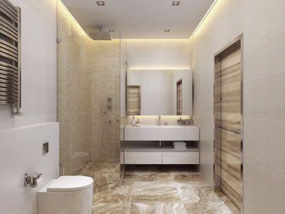 indirektes licht im badezimmer le
