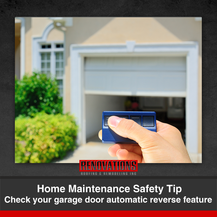 Home Maintenance Safety Tip Check Your Garage Door Automatic