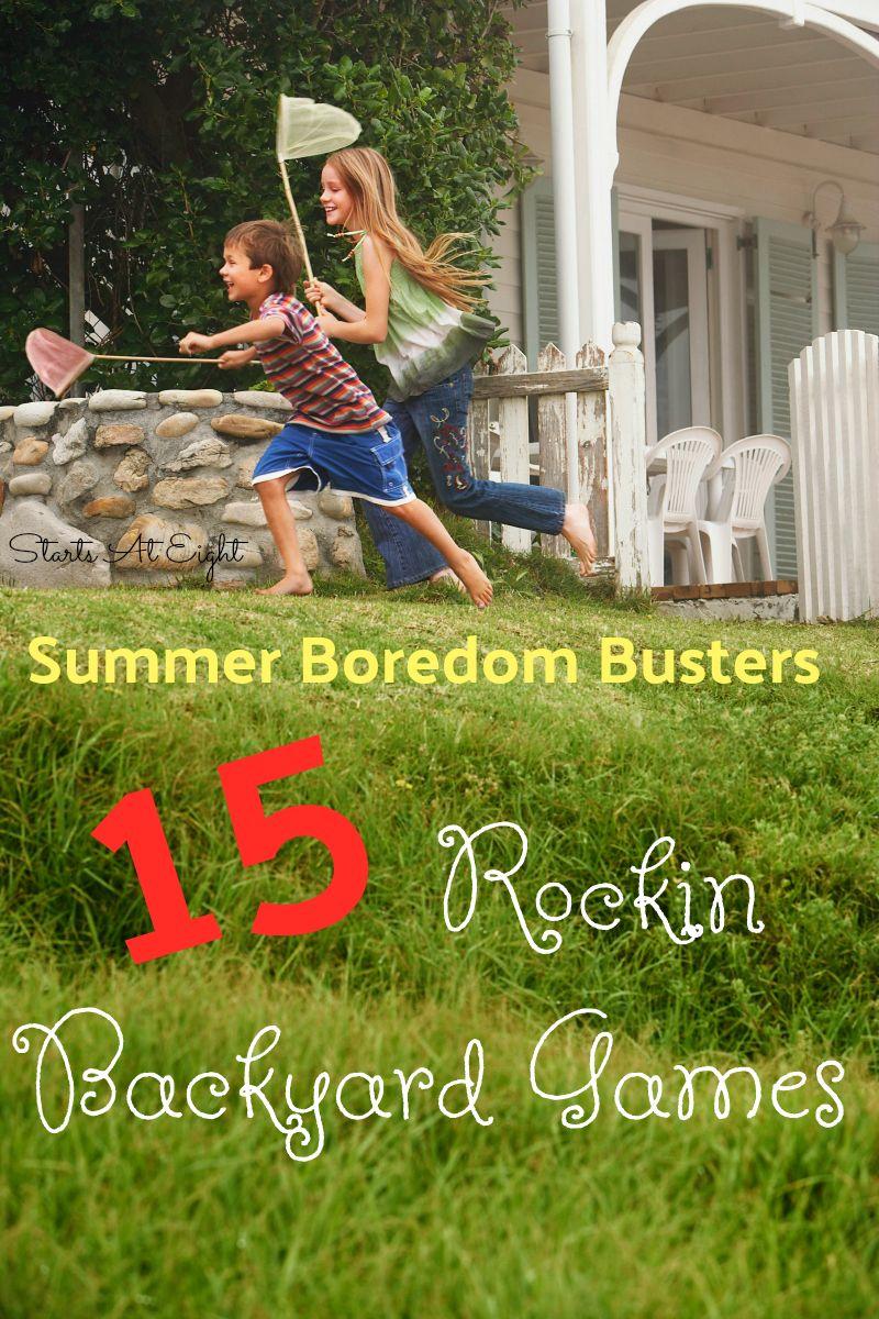 summer boredom busters 15 rockin backyard games from starts at