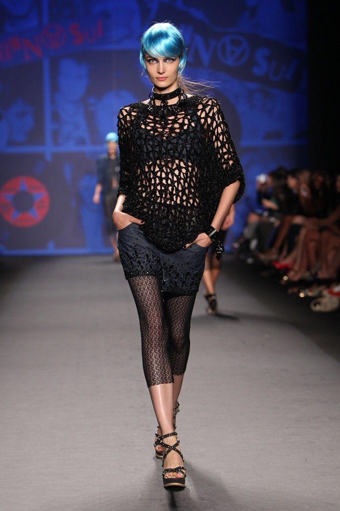 Anna Sui RTW Spring 2013 - Slideshow - Runway, Fashion Week, Reviews and Slideshows - WWD.com