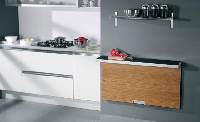 Mesas para cocinas pequeñas | Home | Pinterest | Cocina pequeña ...