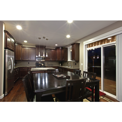 Best Dark Espresso Cabinets With White Painted Millwork Dark 400 x 300