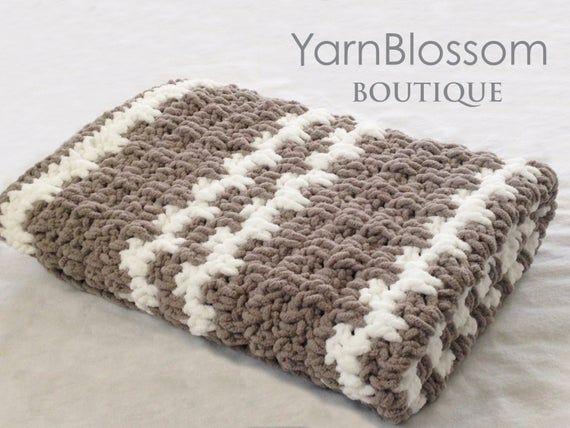 PDF PATTERNS Crochet 4 Hour Baby Blanket crochet afghan | Etsy | Crochet for beginners blanket ...
