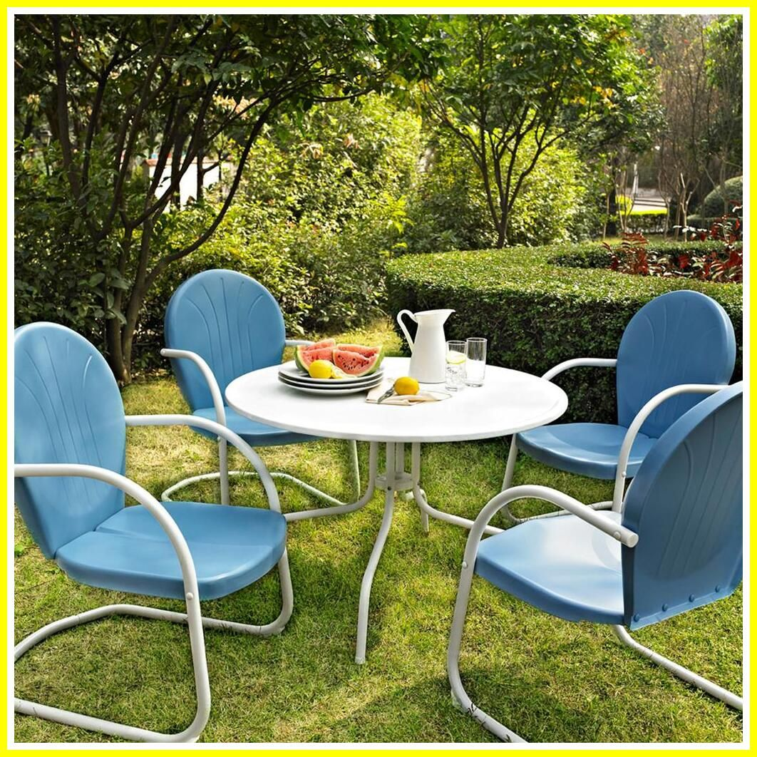58 Reference Of White Metal Chair Outdoor In 2020 Retro Patio Furniture Metal Outdoor Furniture Patio Furniture Dining Set