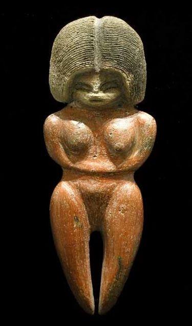 Valdivian Fertility Goddess Origin Ecuador Made In Terrracotta Circa 2500 1500 Bc Dimensions 24 Cm Sanat Tarihi Tanrıçalar Arkeoloji