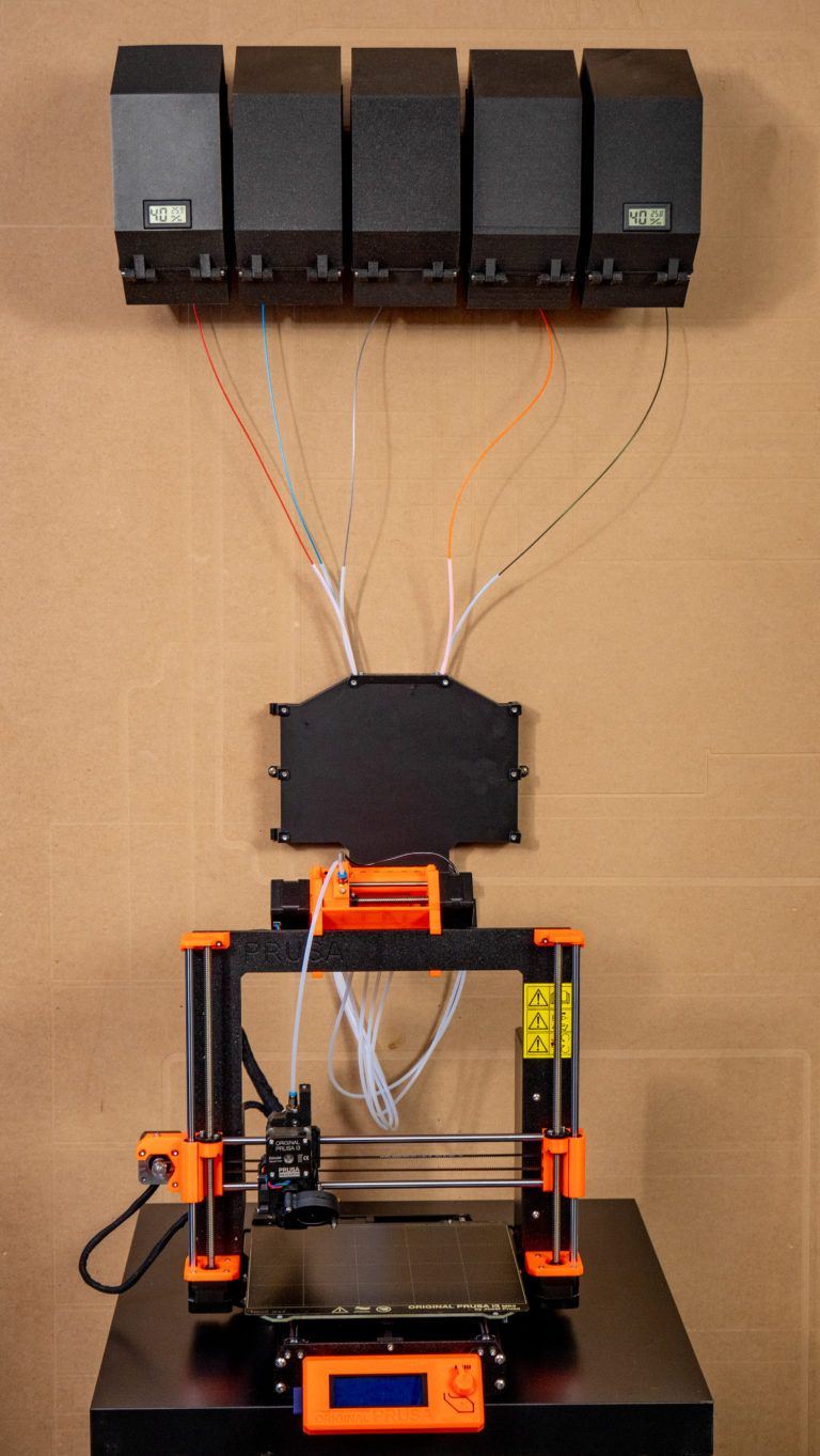 Filament dryboxes and alternative spool holders - not only for MMU2S - Prusa Printers