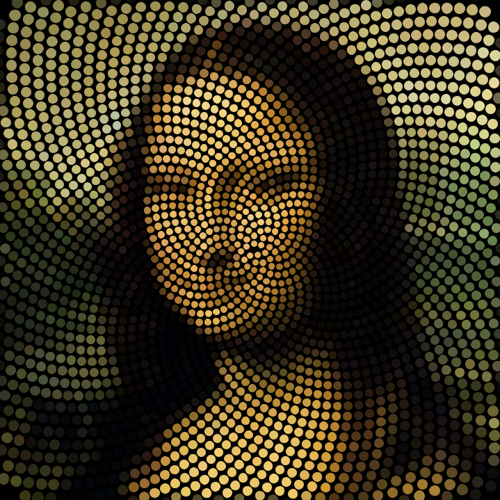 To Da Loos November 2011: Mona Lisa Phyllotaxy Spiral Mosaics By: Jeff Clark Date