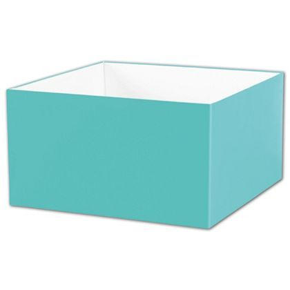 Robin S Egg Blue Gift Box Bases 10 X 10 X 5 1 2 With Images Blue Gift Retail Gift Robins Egg Blue