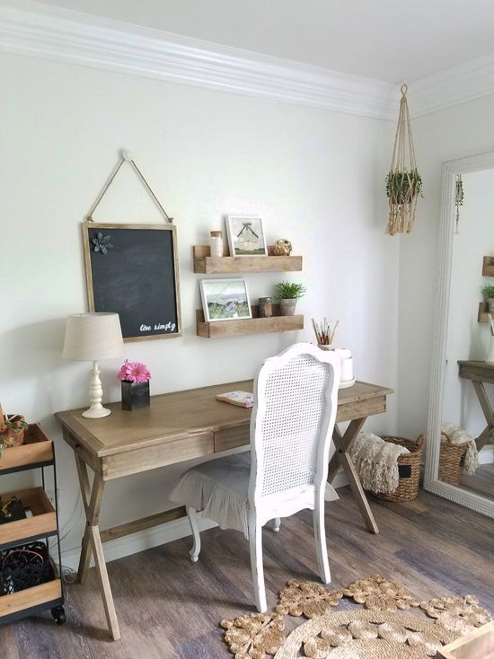 Pin On Farmhouse Style Office