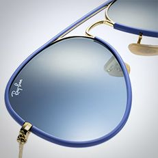 lentes ray ban aviador full color