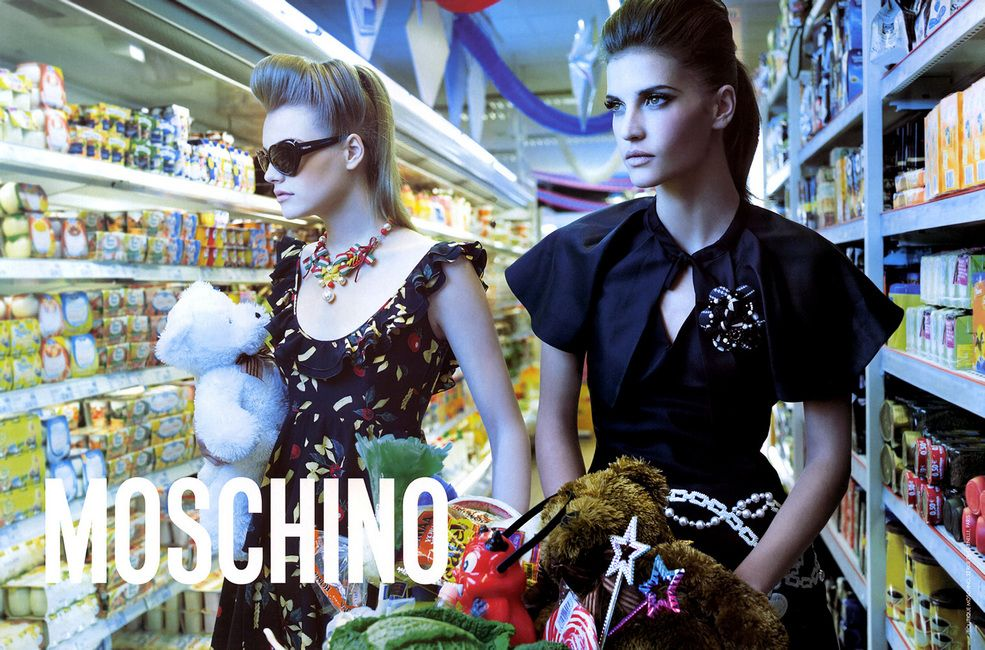 Moschino - Ad Campaign in Spring/Summer 2006 / Fashion ads ...