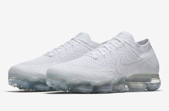 buy popular c559b 011c8 Release Date: Nike Air VaporMax Triple White All-White ...