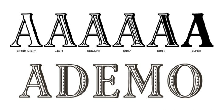 Ademo™ font download | Fonts | Fonts, Great fonts, Typography