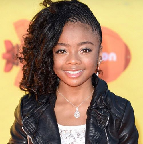 Video Skai Jackson Talked With Fanlala At The Kids Choice - Girl hairstyle video 2015