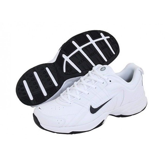 Nike Men's Shoes T-Lite VIII Leather Cross Training white size 13 NEW 49.99  http