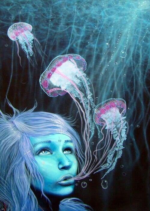 человек медуза картинки очень люблю фотографироваться