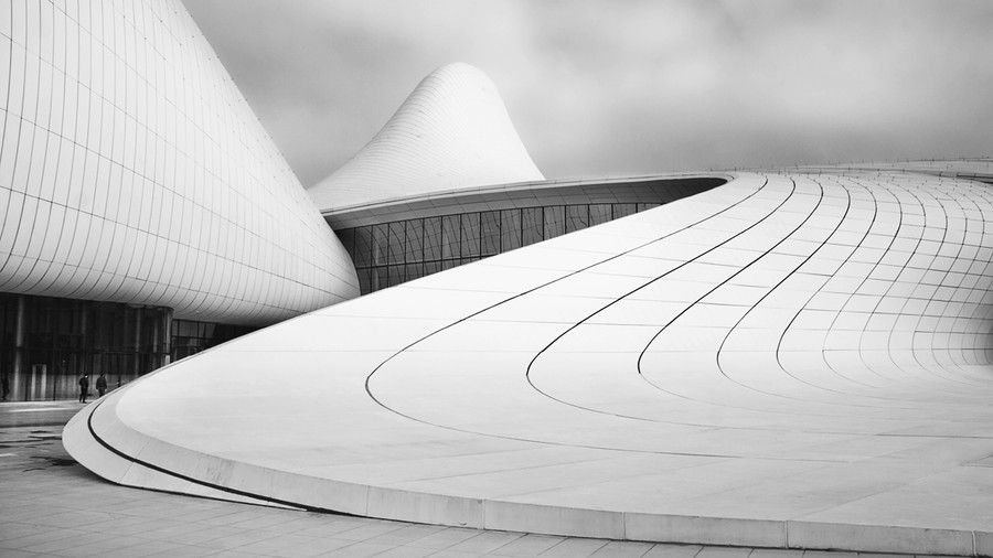 Heydar Aliyev Center by Richard Krchnak
