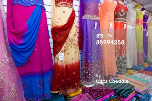 000b4244e6 East Indian clothing store display Little India…