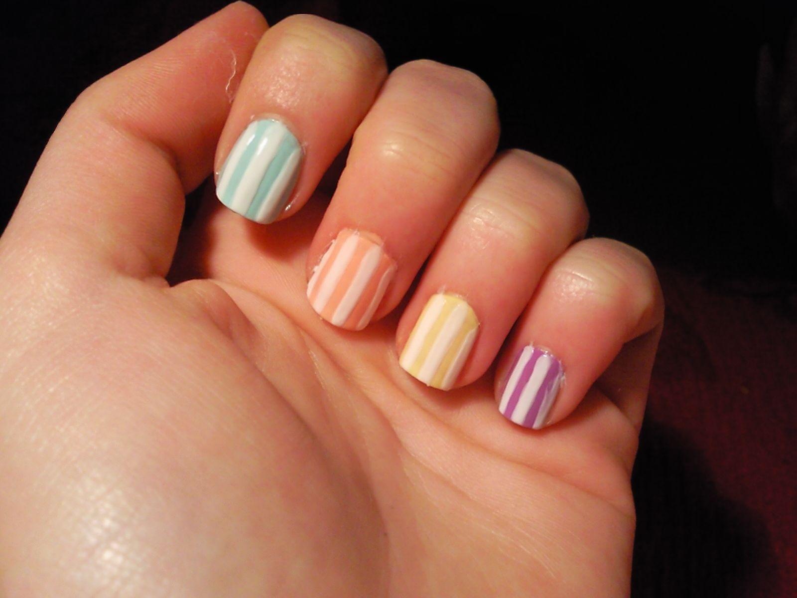 Dedos con Estilo Ideas para u as cortas Ideas for short nails