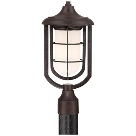 Nautical Collection 17 High Bronze Outdoor Post Light 783 Lampsplus