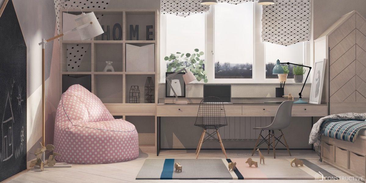 36 Inspirational Home Office Workspaces That Feature 2 Person Desks Home Office Design Office Interior Design Desk Design