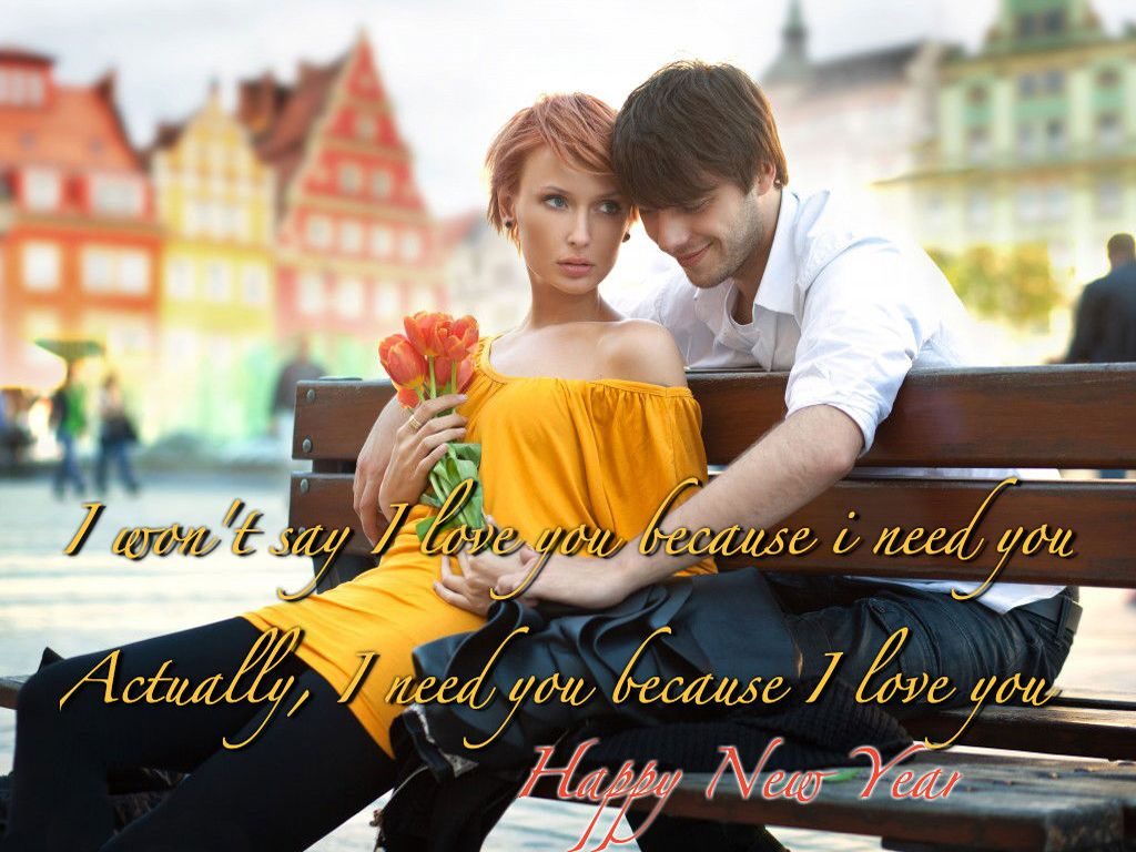 Amazingly Beautiful Romantic Greeting Cards For New Year 2015