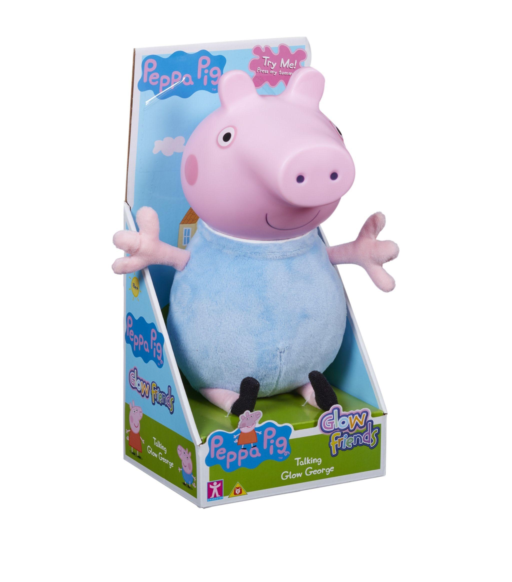 Peppa Pig Glow Friends Talking Glow George Ad Affiliate Glow Pig Peppa George Talking Peppa Pig Soft Toy Pig Peppa Pig [ 2328 x 2048 Pixel ]