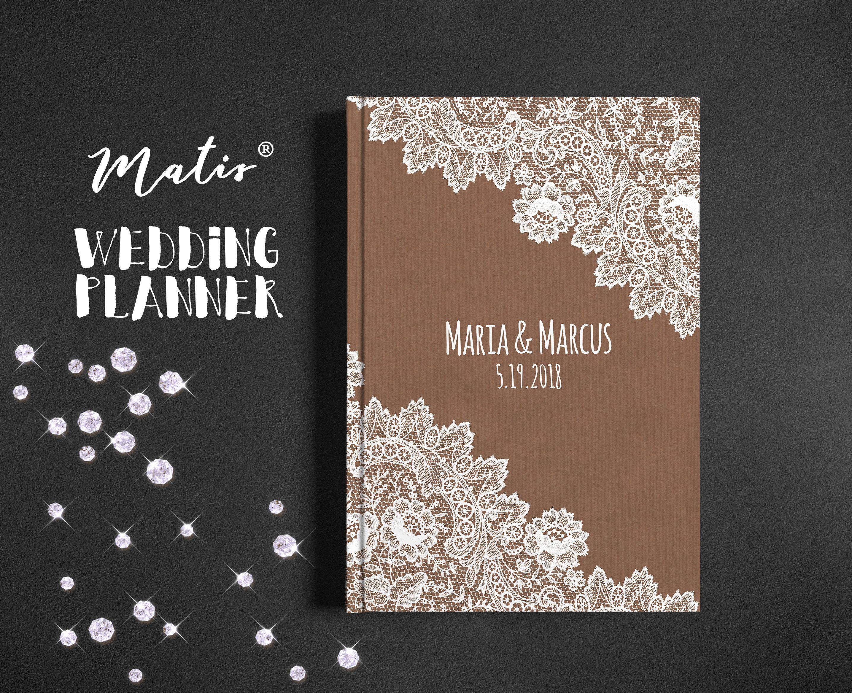 Wedding Planner Designed Unique Book Diy Lace Binder Organizer