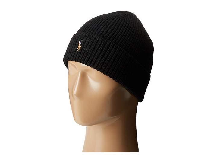 8d9d93e346e Polo Ralph Lauren Signature Merino Cuff Hat