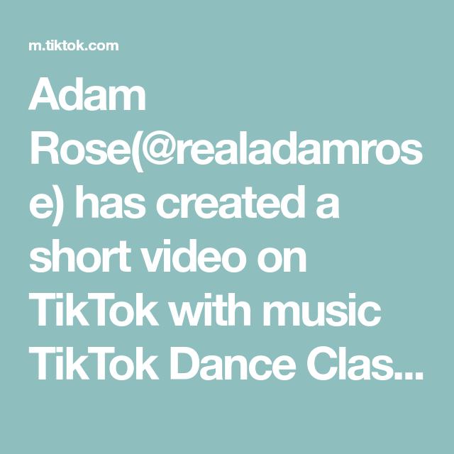 Adam Rose Realadamrose Has Created A Short Video On Tiktok With Music Tiktok Dance Class Challenge I Put Some More Togeth Adam Rose Music Do Do I Wanna Know