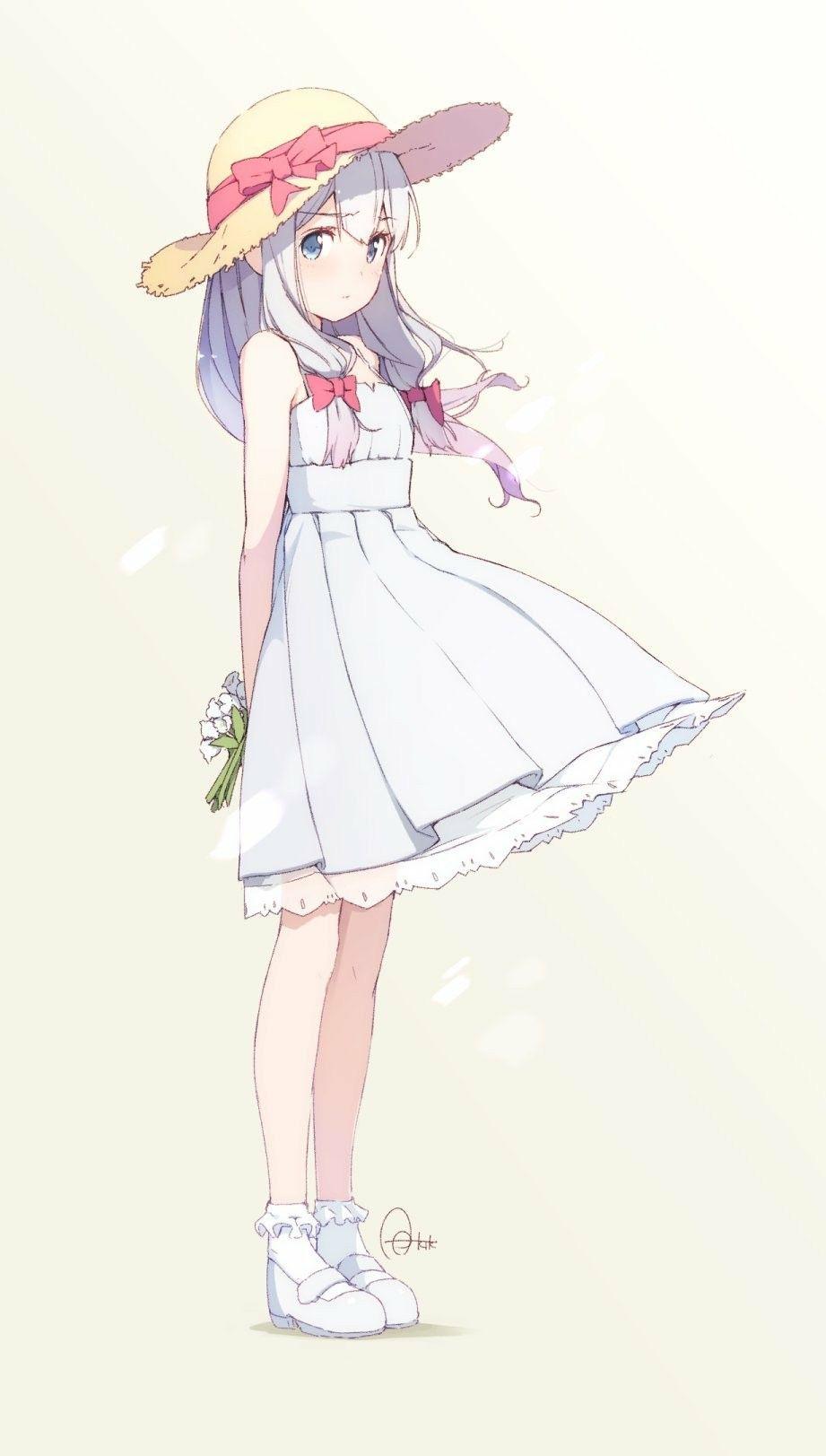 Anime girl cute petite fille manga dessin trop beau creation graphique personnage manga