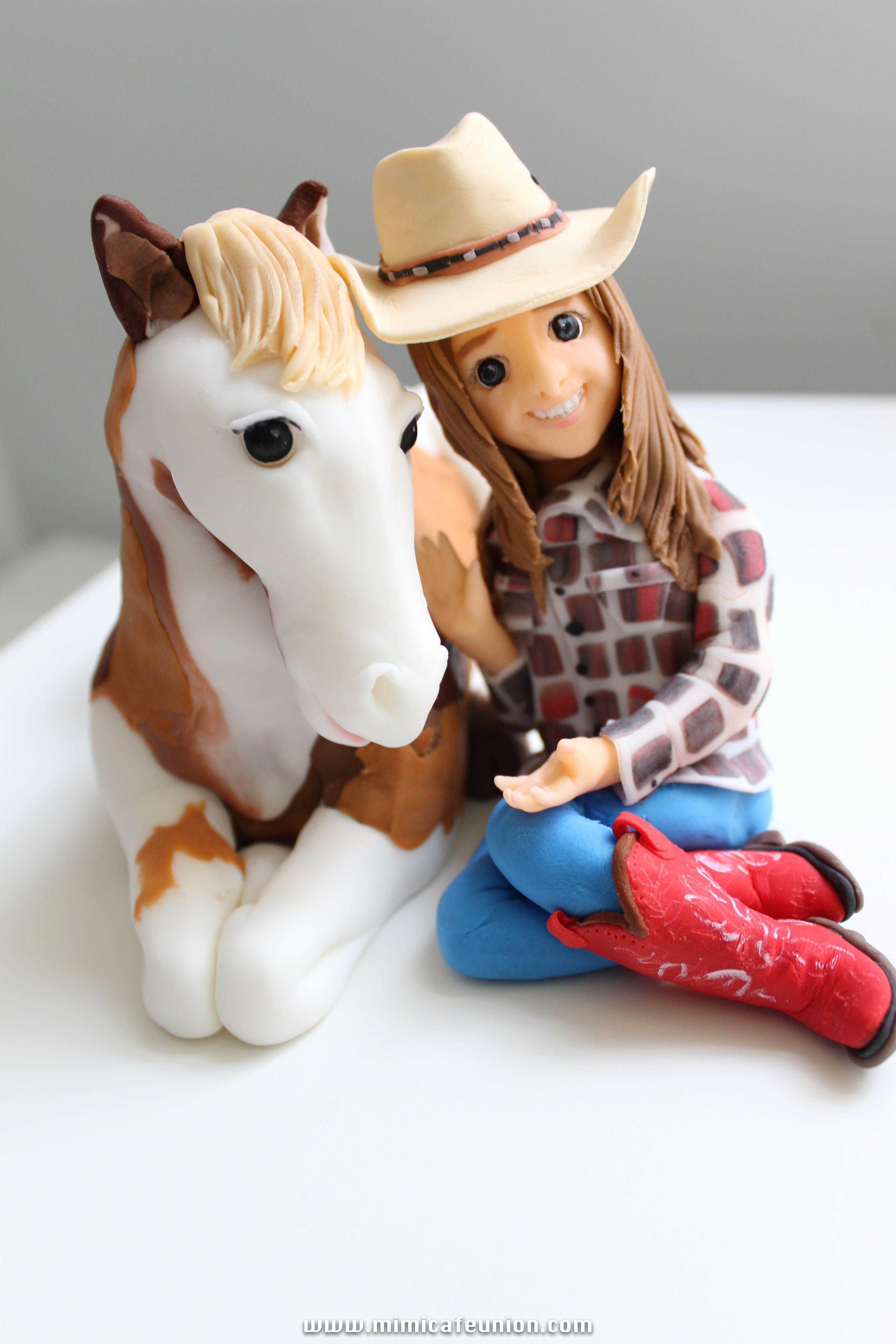 Fondant Cake Topper Idea For Laurelai S Birthday