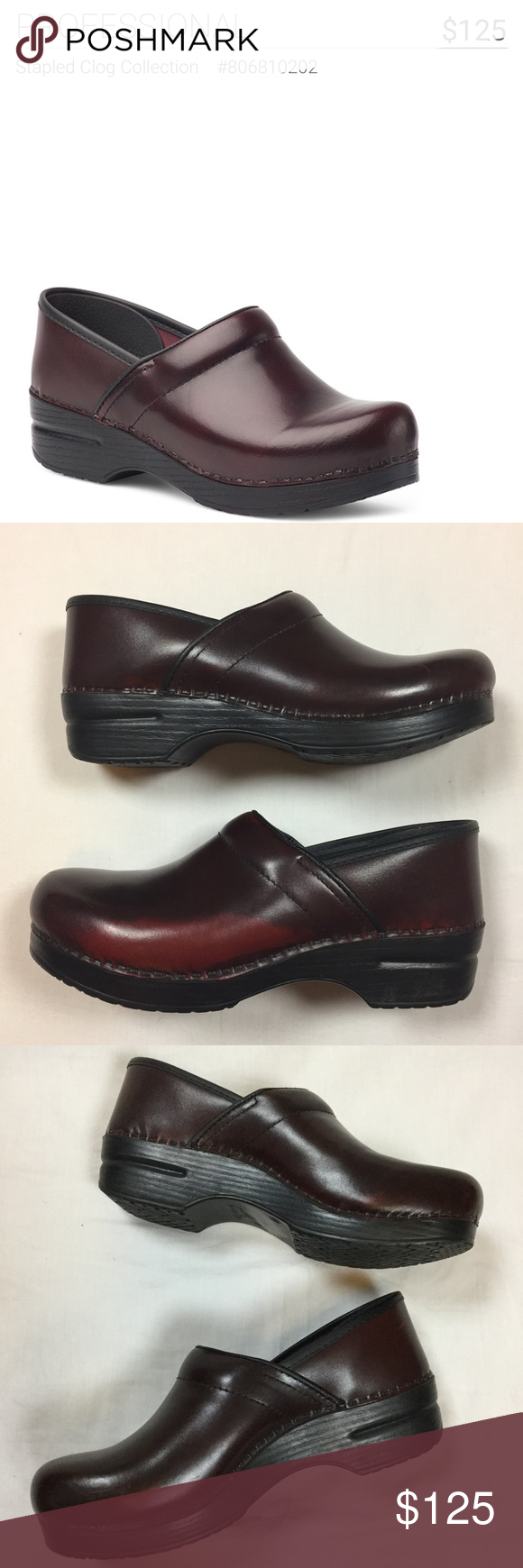 68f9755944b  125 Burgundy Dansko Clogs Perfect for spending long hours on your feet.  Nurse