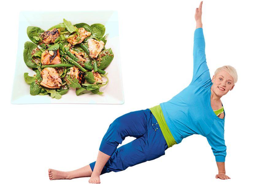 Abgenommen durch Ernährungsumstellung