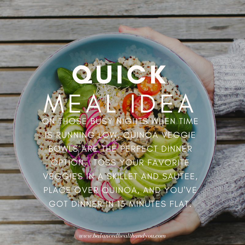 Cook Your Quinoa Or Brown Rice On The Weekend. Then On