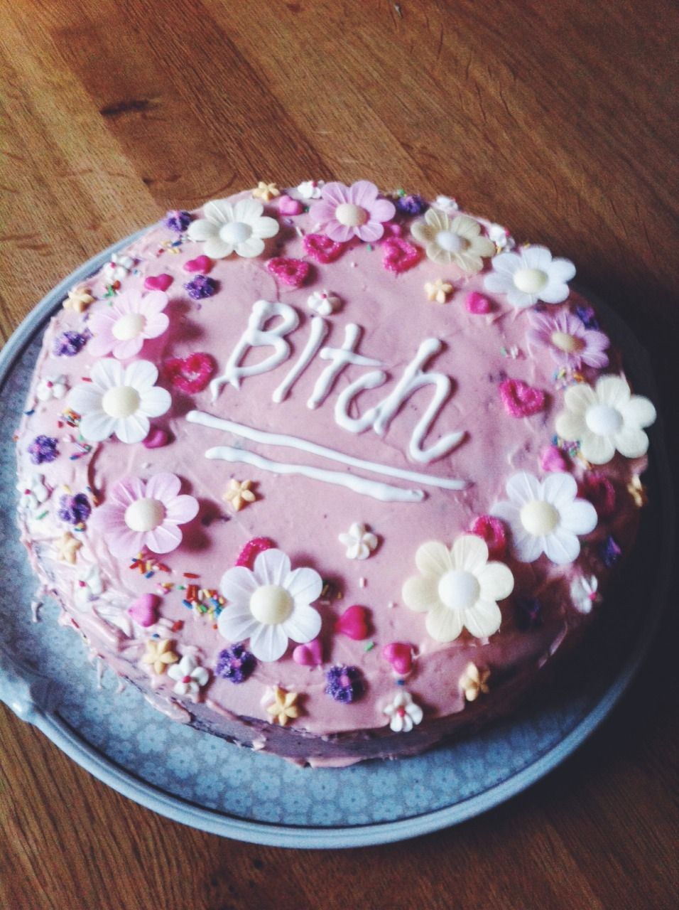 can someone please make me a bitch cake Good Eats Pinterest