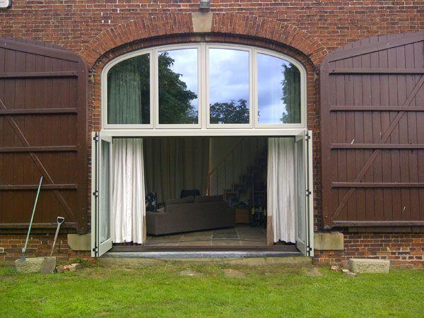 Barn Conversion Doors barn conversion wooden bi-folding doors | serramenti | pinterest