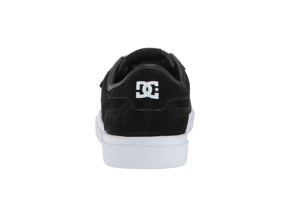 DC Vestrey SE Women s Skate Shoes Black White Pink  2e2265faa9