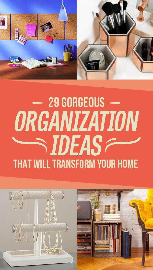 Super 29 Of The Prettiest Ways To Keep Your Home Organized Download Free Architecture Designs Saprecsunscenecom