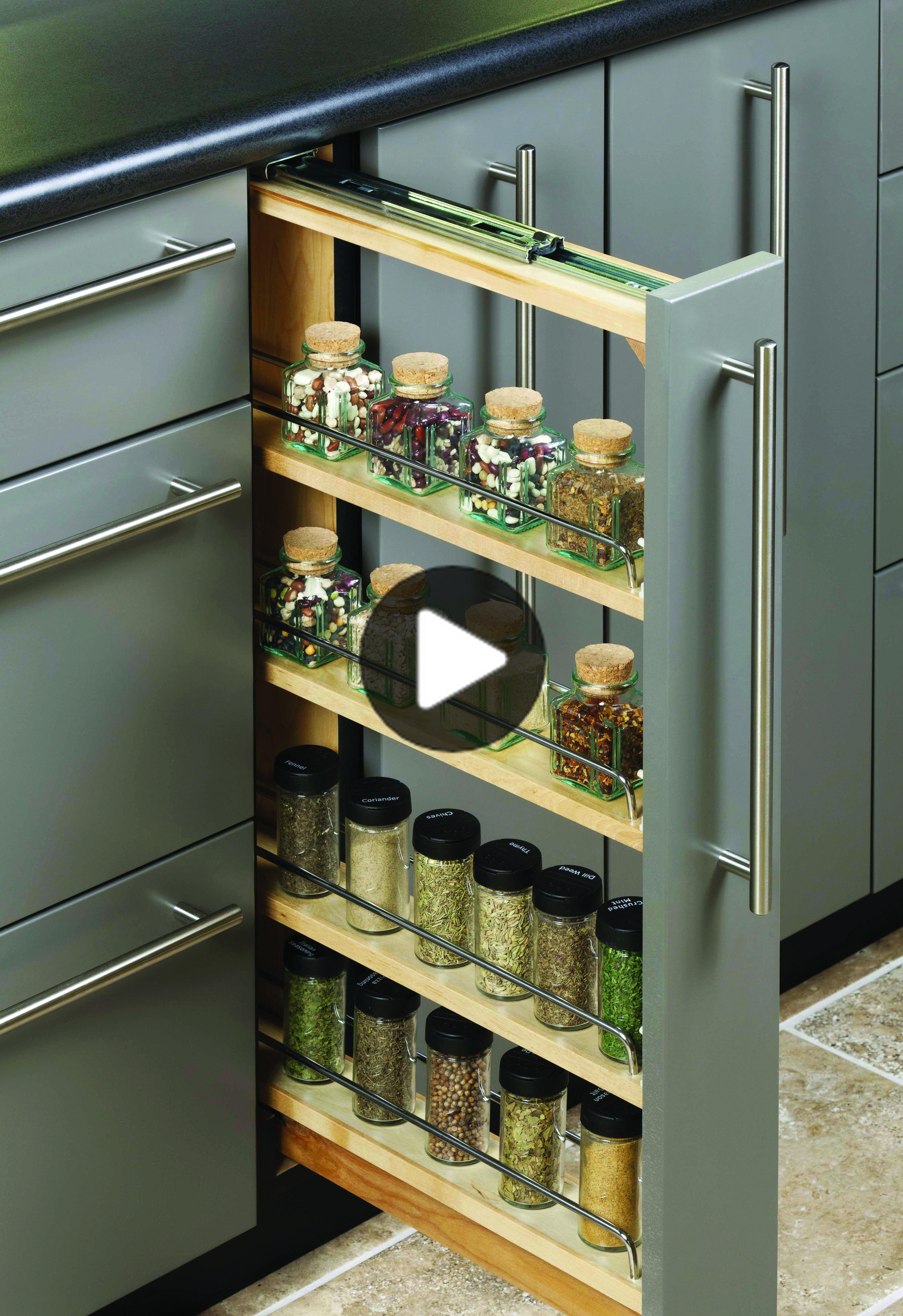 Houzzで最も人気のキッチンストレージのアイデア   Simple kitchen ...