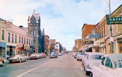 Dundas Street in Woodstock, Ontario