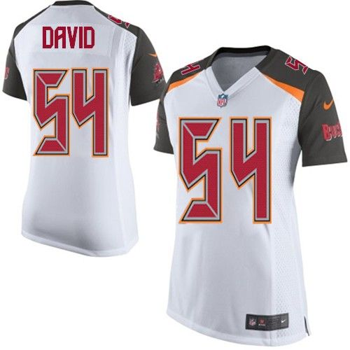Nike Limited Lavonte David White Womens Jersey - Tampa Bay Buccaneers 54  NFL Road . 688f19ee6