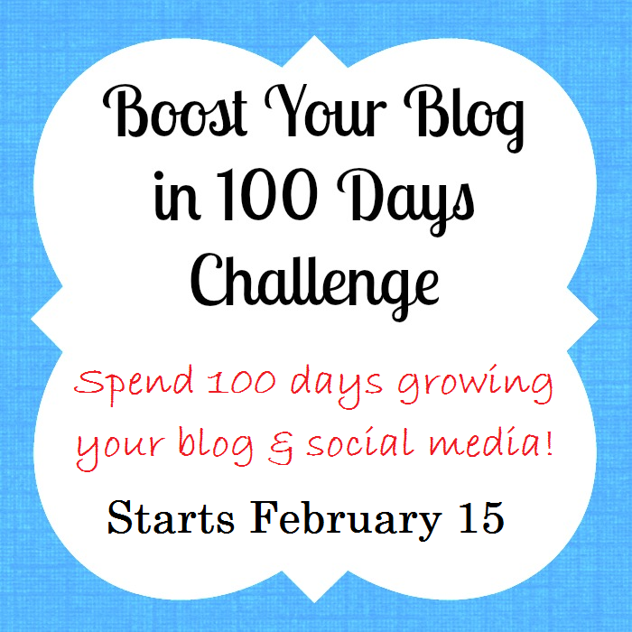 Introducing Boost Your Blog in 100 Days