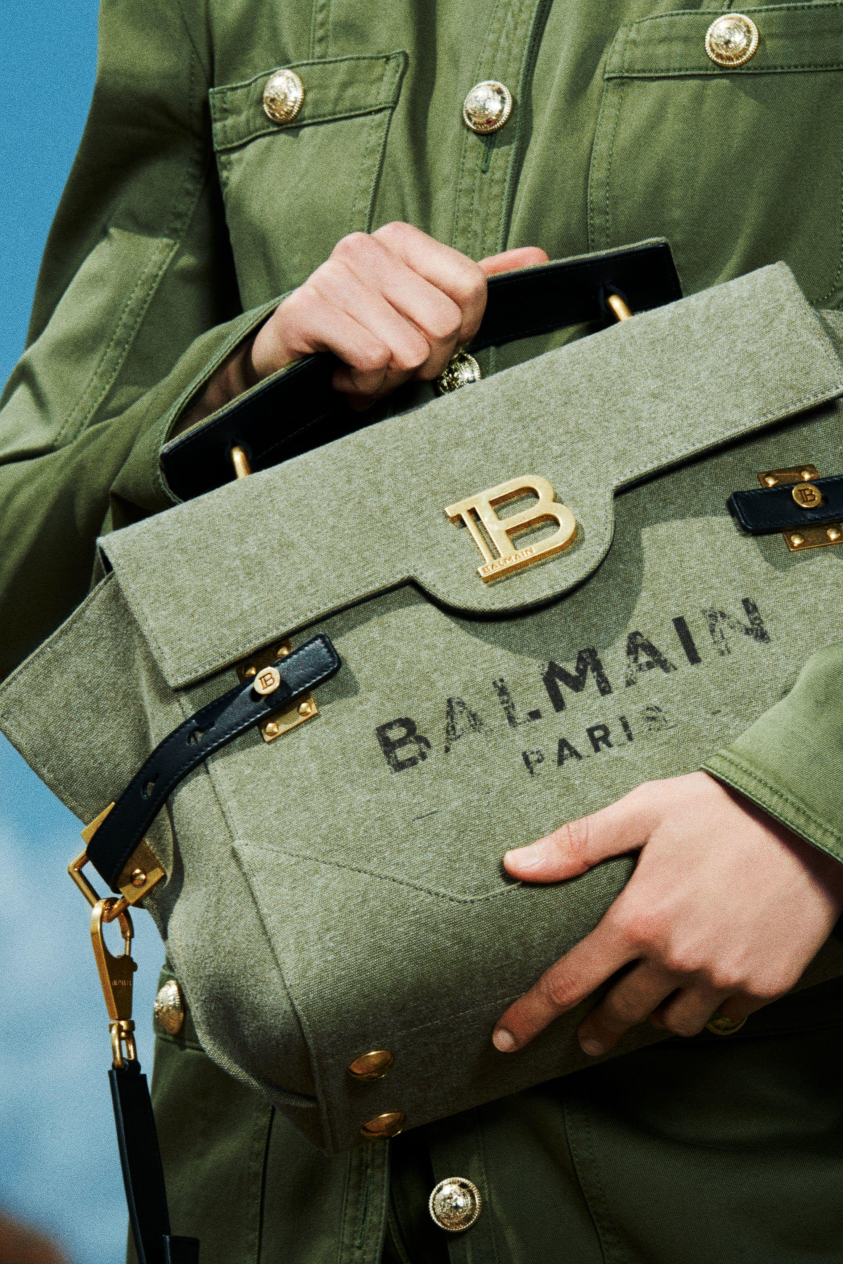 Balmain Resort 2020 Fashion Show #bags