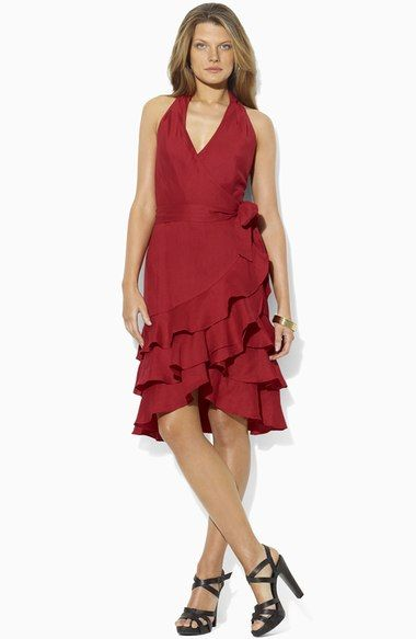 Lauren Ralph Lauren Sleeveless Linen Dress available at #Nordstrom
