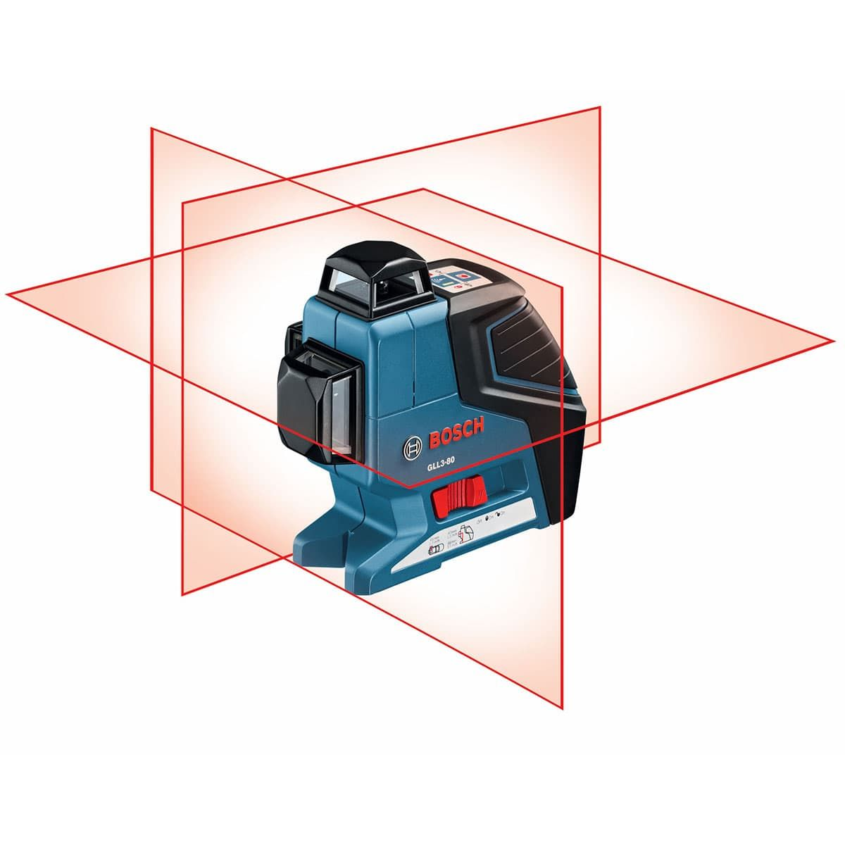 Bosch Gll 3 80 Lr2 Three Plane Leveling And Alignment Laser Laser Levels Bosch Bosch Tools