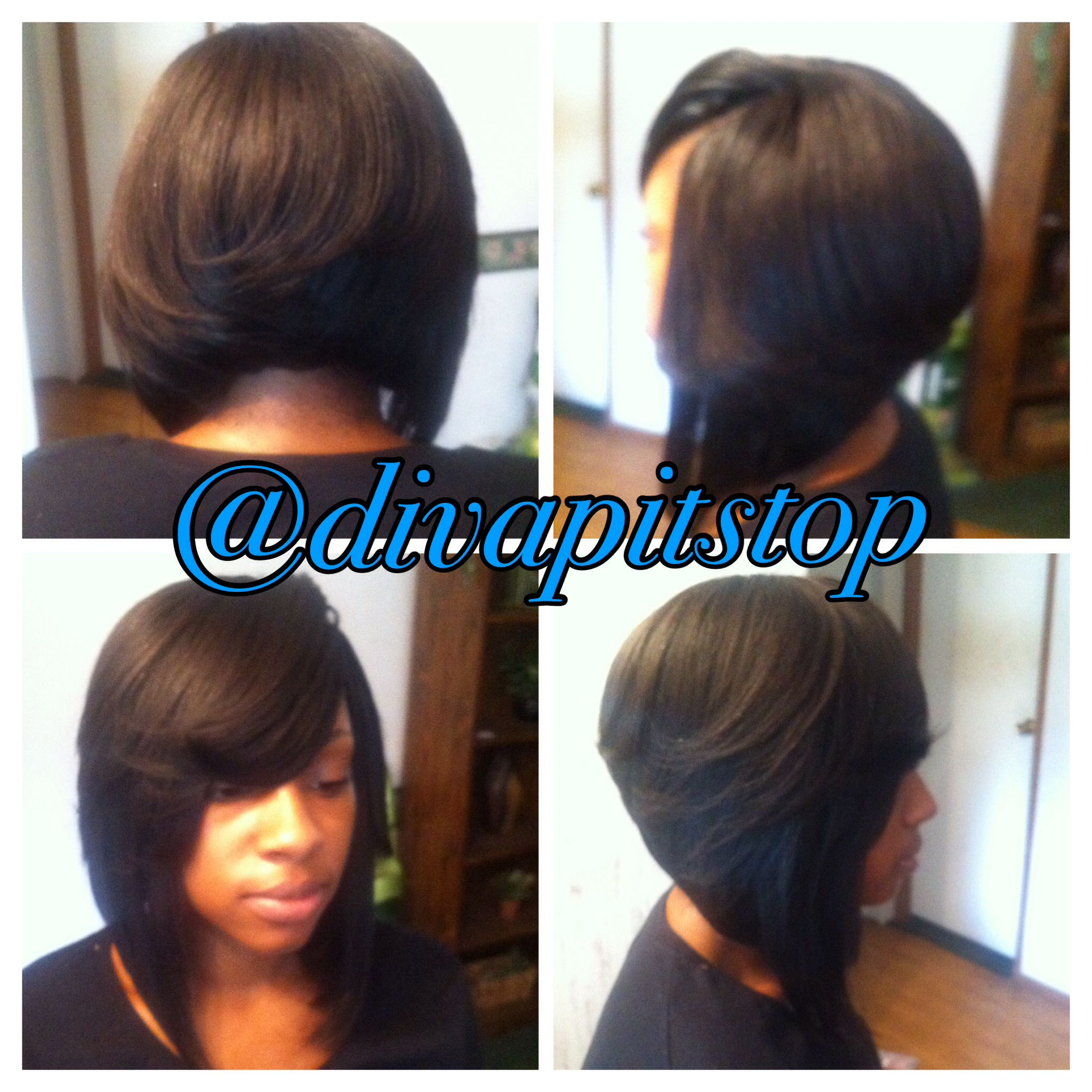 Fantastic Full Sew In With No Leave Out Divapitstop On Instagram Short Hairstyles Gunalazisus