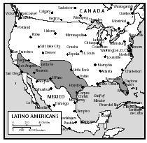 La comida en Latina costumbre es tambien en la Estados Unidos de América en la sur.