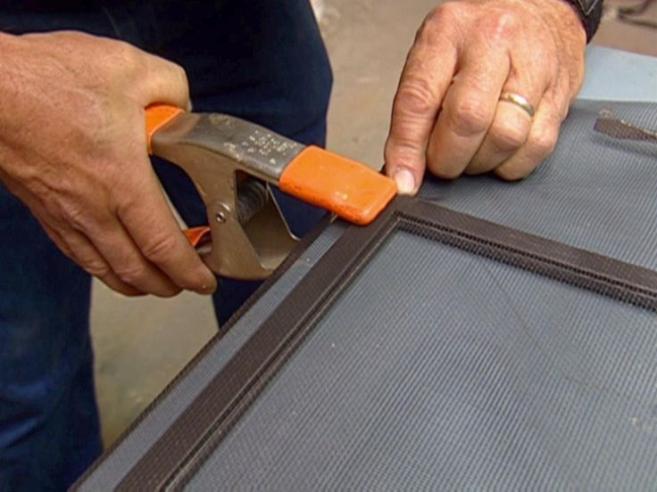 how to build a window screen replacement - Window Screen Frames