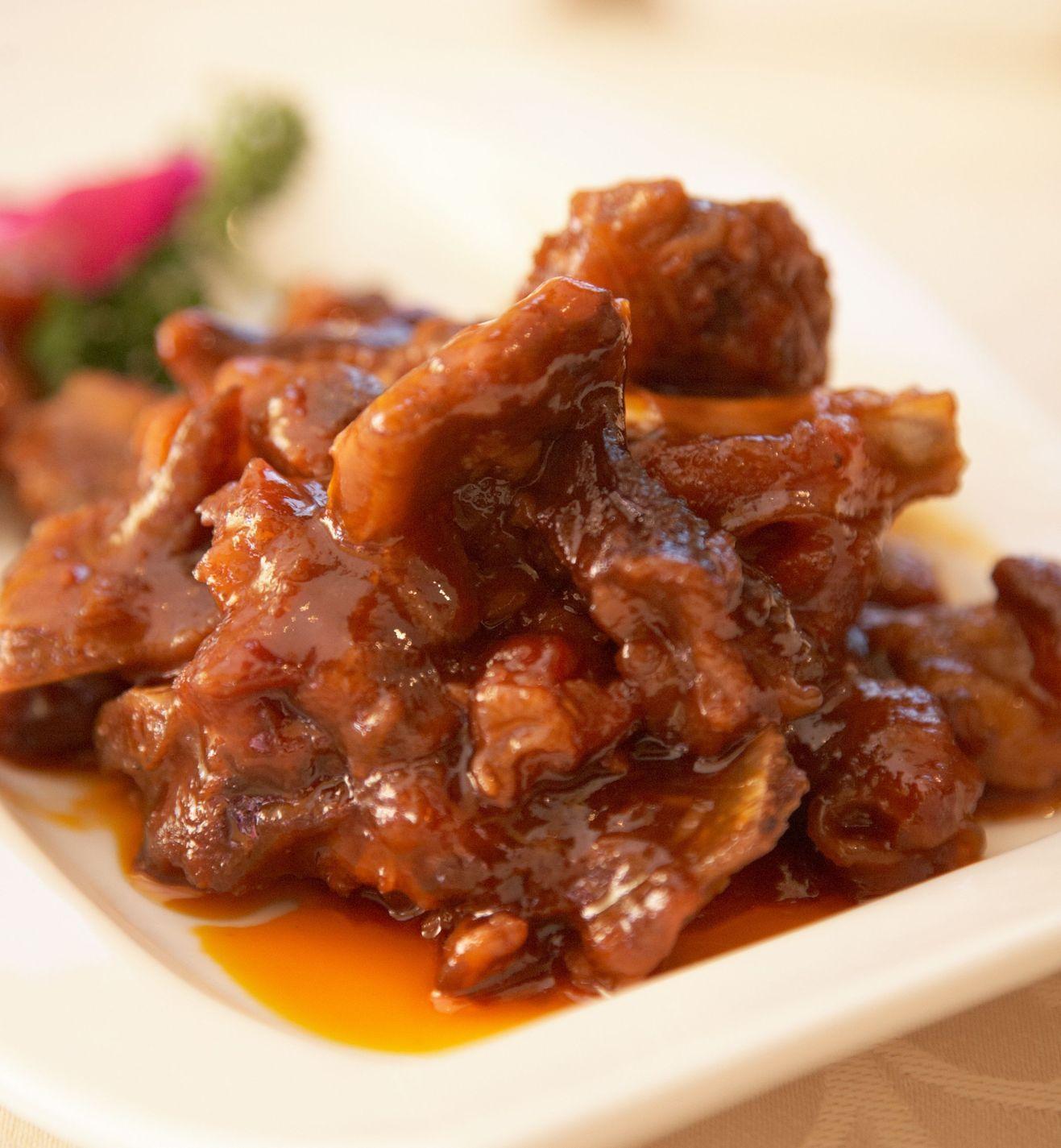 Costillas en salsa agridulce | Marco Beteta | carnes | Pinterest ...